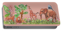 All Is Well In The Jungle Portable Battery Charger