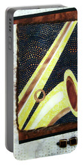 All That Jazz Saxophone Portable Battery Charger