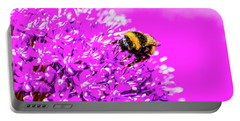Allium With Bee 2 Portable Battery Charger