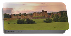 Portable Battery Charger featuring the photograph Alnwick Castle by Tony Murtagh