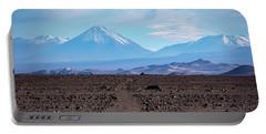 Along The Inca Trail In The Atacama Desert Portable Battery Charger