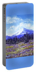 Alpine Meadow Sketch Portable Battery Charger