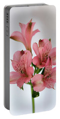 Alstroemeria Up Close Portable Battery Charger