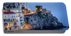 Amalfi Coast Italy Nightlife Portable Battery Charger