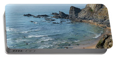 Amalia Beach From Cliffs Portable Battery Charger