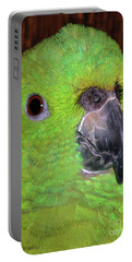 Portable Battery Charger featuring the photograph Amazon Parrot by Debbie Stahre