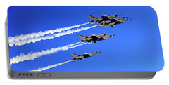 Ambassadors In Blue - Thunderbirds - Air Force Portable Battery Charger