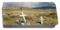 American Flag Grave Portable Battery Charger
