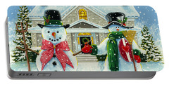 American Snowman Gothic Portable Battery Charger