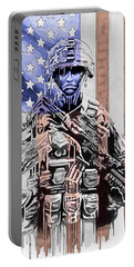 American Soldier Portable Battery Charger