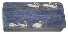 American White Pelican  Portable Battery Charger