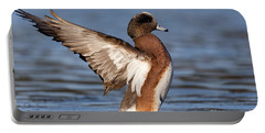 American Wigeon Delight Portable Battery Charger