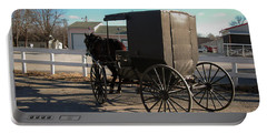Amish Transportation Portable Battery Charger