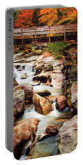 Ammonoosuc River, Autumn Portable Battery Charger