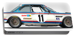 Bmw 3.0 Csl No Background Portable Battery Charger