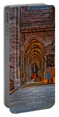 Portable Battery Charger featuring the photograph Amped Up Arches by Tom Gresham