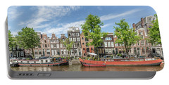 Amsterdam Prinsengracht Houseboats Portable Battery Charger