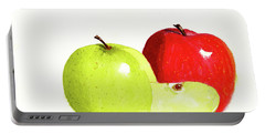 An Apple A Day Portable Battery Charger