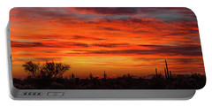 Portable Battery Charger featuring the photograph An Arizona Sky by Rick Furmanek