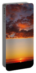 An Oklahoma Sunsrise Portable Battery Charger