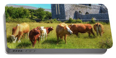 Ancient Cows Portable Battery Charger