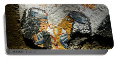 Portable Battery Charger featuring the photograph Ancient Egypt Art  by Sue Harper