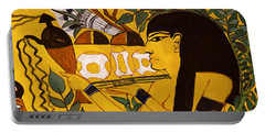 Portable Battery Charger featuring the photograph Ancient Egypt Man by Sue Harper