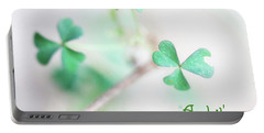 And It's O The Green Shamrock Portable Battery Charger