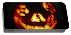 Andy's Jack O Lantern Portable Battery Charger