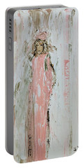 Angels In Pink Portable Battery Charger