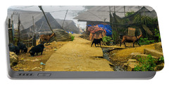 Animal Farm In Sapa, Vietnam Portable Battery Charger