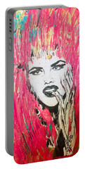 Anna Nicole Portable Battery Charger