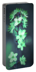 Another World - Glowing Flowers Portable Battery Charger