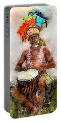 Antiguan Drummer Portable Battery Charger