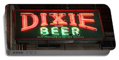 Antique Dixie Beer Neon Sign Portable Battery Charger