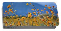 Anza Borrego Wild Desert Sunflowers Portable Battery Charger