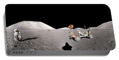 Apollo 17 Taurus-littrow Valley The Moon Portable Battery Charger