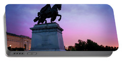 Apotheosis Of St. Louis, King Of France Portable Battery Charger