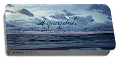 Aquaphile Portable Battery Charger