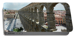 Aqueduct Of Segovia, Spain Portable Battery Charger
