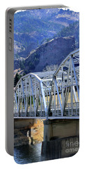Arched Bridge And Hills Portable Battery Charger
