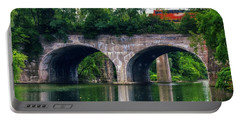 Arched Train Bridge   Portable Battery Charger