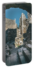Architecture Of Old Vathia Settlement Portable Battery Charger