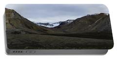 Arctic Mountain Landscape Portable Battery Charger