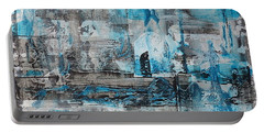 Portable Battery Charger featuring the painting Arctic by 'REA' Gallery