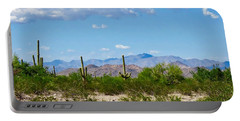 Arizona Desert Hidden Valley Portable Battery Charger