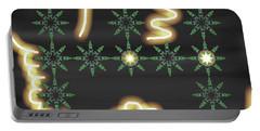 Art Deco Design 8 Portable Battery Charger