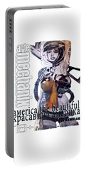 arteMECHANIX 1913 AMERICA THE BEAUTIFUL GRUNGE Portable Battery Charger