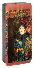 Artistic Frida Kahlo Stream  Portable Battery Charger