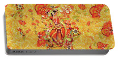Ganges Flower Portable Battery Charger
